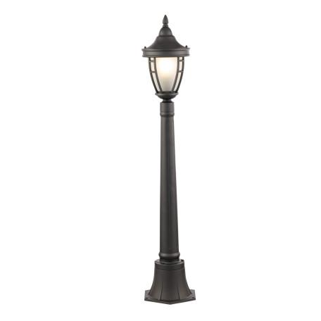 Уличный фонарь Maytoni Rivoli O026FL-01B, IP44, 1xE27x60W, черный, металл, металл со стеклом