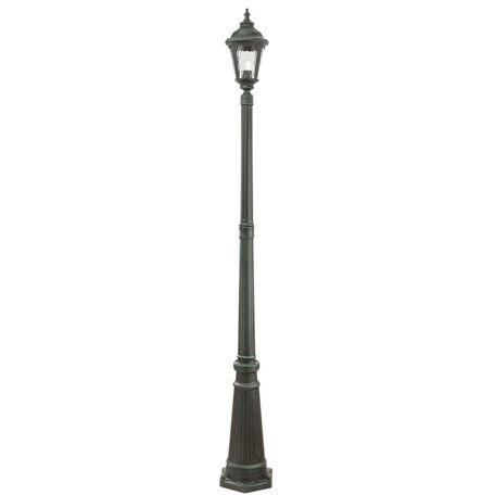 Уличный фонарь Maytoni Goiri O030FL-01GN, IP44, 1xE27x60W, черный, прозрачный, металл, металл со стеклом
