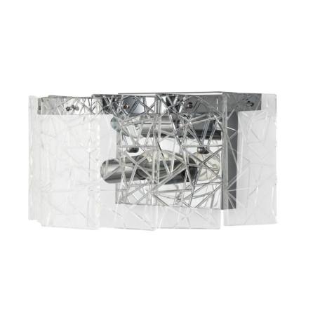 Настенный светильник Arte Lamp Galatea A1222AP-2CC, 2xE14x60W, хром, прозрачный, металл, хрусталь