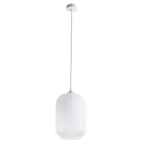 Подвесной светильник Arte Lamp Arwen A1903SP-1WH, 1xE27x60W, белый, металл