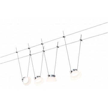 Тросовая система освещения Paulmann IceLED 50016, LED 16W, металл, пластик