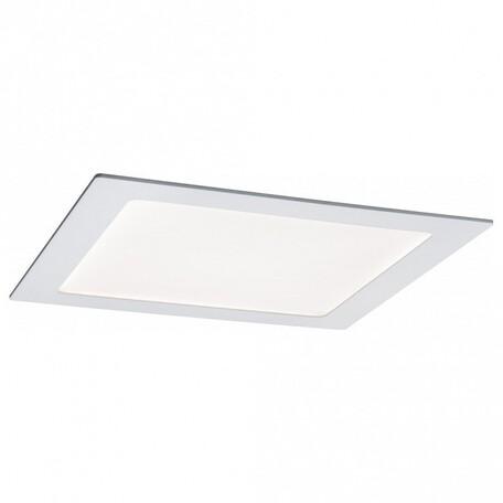 Встраиваемая светодиодная панель Paulmann Smart Panel BLE 50034, IP44, LED 3,5W, белый, металл с пластиком