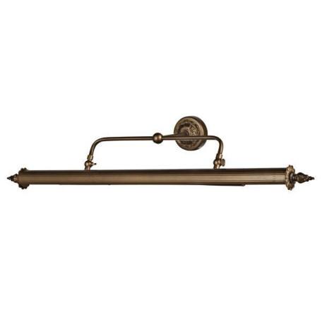 Настенный светильник для подсветки картин L'Arte Luce Leonardo L17374.51, 4xE14x25W, бронза, металл