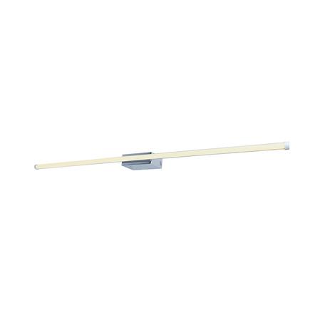 Настенный светодиодный светильник для подсветки зеркал Zumaline Nobli WL16015, LED 12W 1200lm, хром, белый, металл, пластик