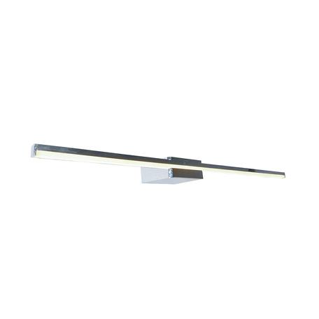 Настенный светодиодный светильник для подсветки зеркал Zumaline Nobli WL16016, LED 12W 1200lm, хром, металл, металл с пластиком