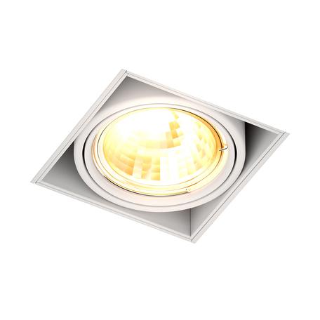 Встраиваемый светильник Zumaline Oneon 94361-WH, 1xGU10x50W, белый, металл