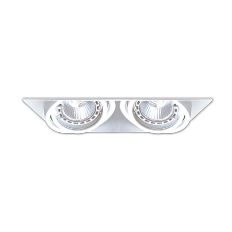 Встраиваемый светильник Zumaline Oneon 94362-WH, 2xGU10x50W, белый, металл
