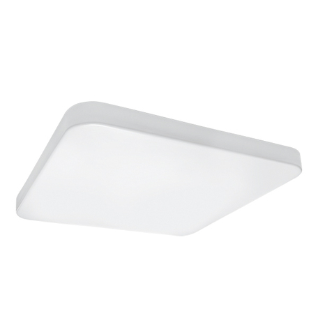 Потолочный светодиодный светильник Lightstar Arco 226202, IP44, LED 20W 3000K 1920lm, белый, пластик