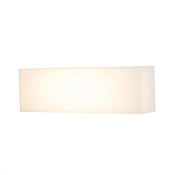 Настенный светодиодный светильник Maytoni Camden O009WL-L10S, IP54, LED 10W 3000K 820lm CRI82, серебро, белый, металл