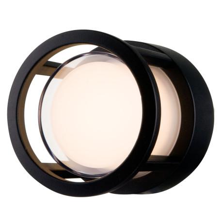 Настенный светильник Maytoni Wolseley Road O011WL-L6B, IP54 3000K (теплый), белый, черный, металл
