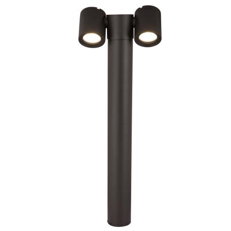 Садово-парковый светильник Maytoni Wall Street O010FL-02B, IP54, 2xGU10x50W, черный, металл