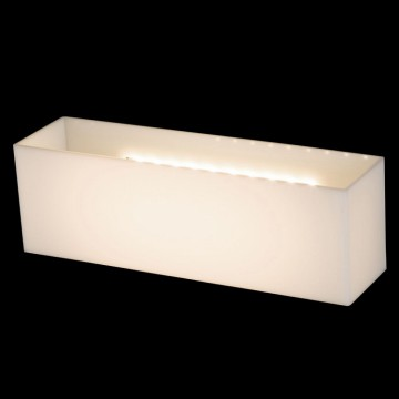 Настенный светильник Maytoni Camden O009WL-L10S, IP54, белый, металл