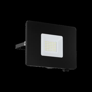 Светодиодный прожектор Eglo Faedo 3 97457, IP65, LED 30W 5000K 2750lm, черный, металл, металл со стеклом, стекло