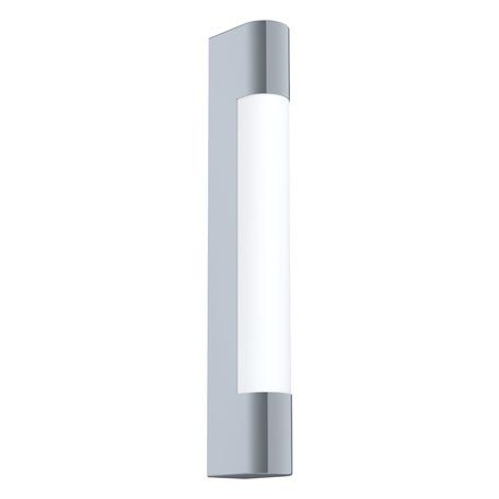 Настенный светодиодный светильник для подсветки зеркал Eglo Tragacete 98442, IP44, LED 8W 4000K 770lm, хром, металл с пластиком