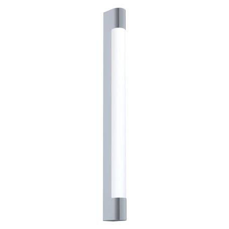 Настенный светодиодный светильник для подсветки зеркал Eglo Tragacete 98443, IP44, LED 16W 4000K 1500lm, хром, металл с пластиком