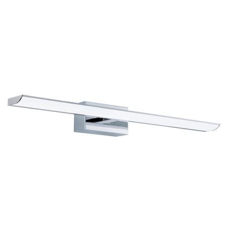 Настенный светодиодный светильник для подсветки зеркал с пультом ДУ Eglo Connect Tabiano-C 98452, IP44, LED 21W 2765K 2700lm CRI>80, хром, металл