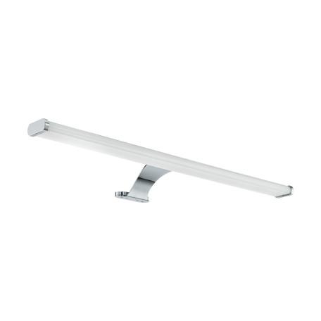 Настенный светодиодный светильник для подсветки зеркал Eglo Vinchio 98502, IP44, LED 10W 3000K 1500lm, хром, белый, металл, пластик