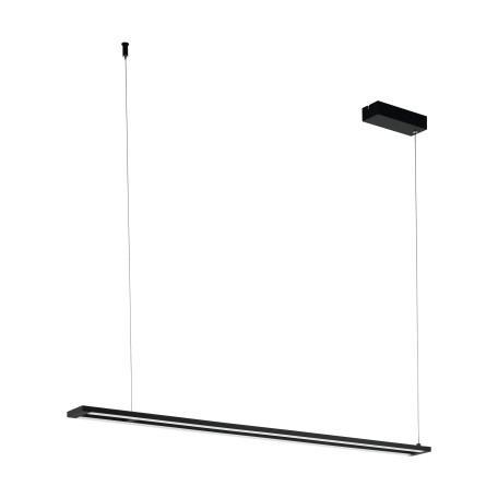Подвесной светодиодный светильник Eglo Amontillado 98492, LED 27W 3000K 3500lm, черный, металл, металл с пластиком