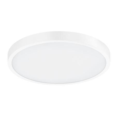 Потолочный светодиодный светильник с пультом ДУ Eglo Fueva-A 98292, LED 14W 2765K 2000lm, белый, металл с пластиком