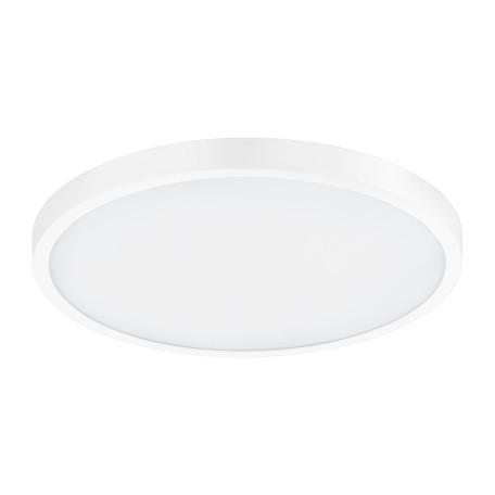 Потолочный светодиодный светильник с пультом ДУ Eglo Fueva-A 98293, LED 20W 2765K 2650lm, белый, металл с пластиком