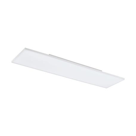 Потолочный светодиодный светильник Eglo Turcona 98478, LED 33W 3000K 3800lm, белый, металл, металл с пластиком