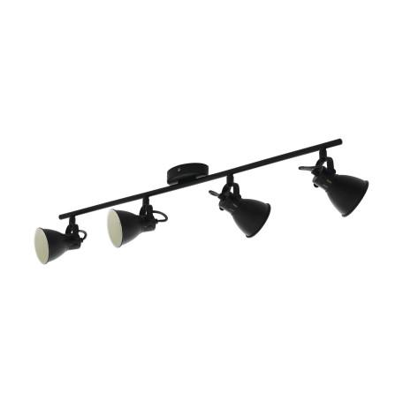 Потолочный светильник с регулировкой направления света Eglo Seras 2 98408, 4xGU10x3,3W, черный, металл