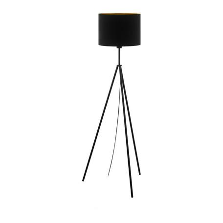 Торшер Eglo Scigliati 98391, 1xE27x60W, черный, металл, текстиль