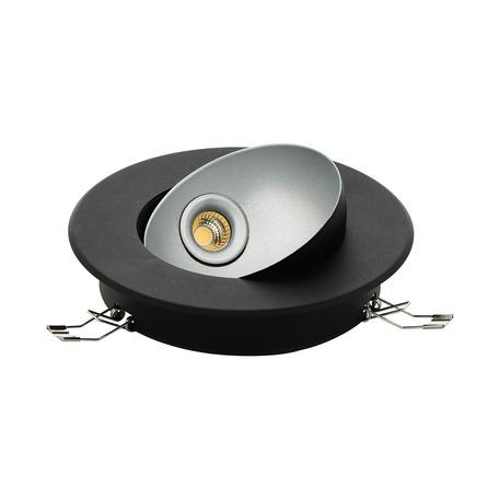 Встраиваемый светодиодный светильник Eglo Ronzano 1 98522, LED 5W 3000K 480lm, черный, металл