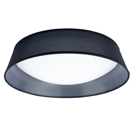 Потолочный светильник Mantra Nordica 4966E, черный, белый, пластик, текстиль