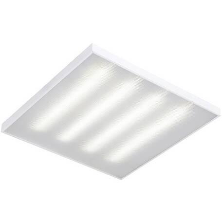 Светодиодная панель для встраиваемого или накладного монтажа Gauss 842123345, LED 45W 6500K 4150lm CRI70, белый, металл с пластиком