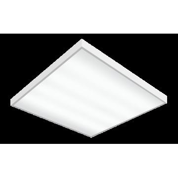 Светодиодная панель для встраиваемого или накладного монтажа Gauss 842123340, LED 36W 6500K 2570lm CRI70, белый, металл с пластиком