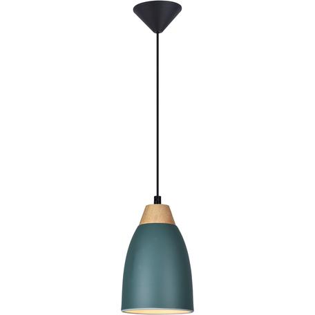 Подвесной светильник Toplight Leah TL0724H-2G, 1xE27x40W, серый с коричневым, серый, металл