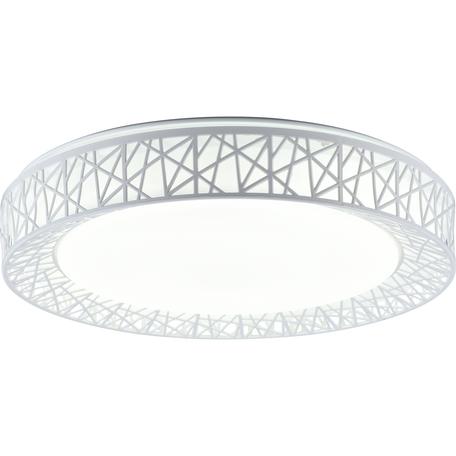 Потолочный светодиодный светильник Toplight Diana TL1204X-72WH, LED 72W, белый, металл с пластиком