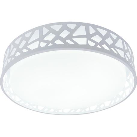 Потолочный светодиодный светильник Toplight Leone TL1205X-72WH, LED 72W, белый, металл с пластиком