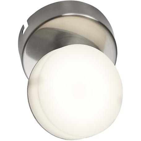Потолочный светодиодный светильник Toplight Penelope TL1237Y-01SN, LED 5W, никель, белый, металл, пластик
