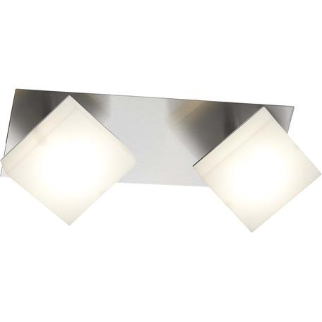 Потолочный светодиодный светильник Toplight Gwendolen TL1240Y-02CH, LED 10W, хром, белый, металл, пластик