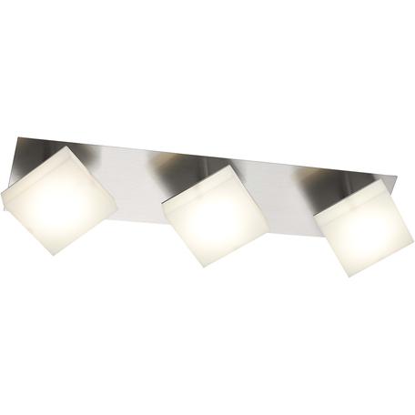 Потолочный светодиодный светильник Toplight Gwendolen TL1240Y-03CH, LED 15W, хром, белый, металл, пластик