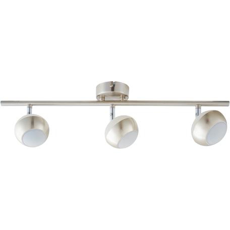 Потолочный светодиодный светильник с регулировкой направления света Toplight Doreen TL1241Y-03SN, LED 15W, никель, белый с никелем, металл, металл с пластиком
