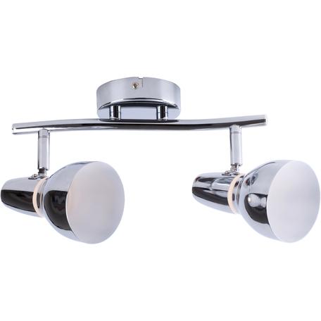 Потолочный светодиодный светильник с регулировкой направления света Toplight Dayna TL1243Y-02CH, LED 10W, хром, металл, металл с пластиком