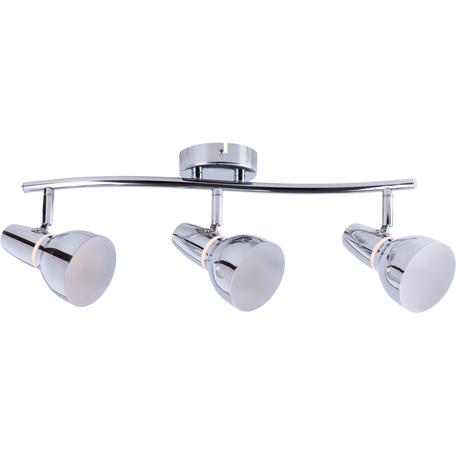 Потолочный светодиодный светильник с регулировкой направления света Toplight Dayna TL1243Y-03CH, LED 15W, хром, металл, металл с пластиком