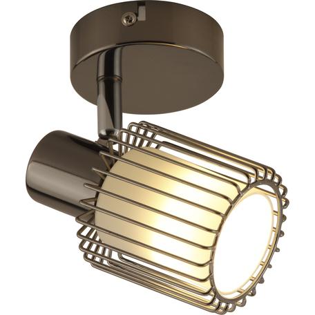 Потолочный светильник с регулировкой направления света Toplight Laurine TL1252Y-01BC, 1xE14x40W, черный, белый с черным, металл, металл со стеклом