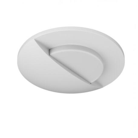 Встраиваемый настенный светодиодный светильник Lightstar Lumina 212156, LED 1W 4000K 60lm, белый, металл
