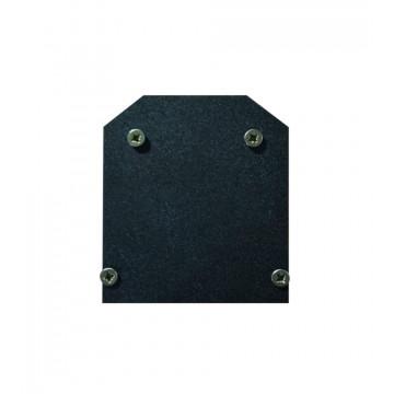 Концевая заглушка для шинопровода Denkirs Smart TR3042-AL, черный, металл