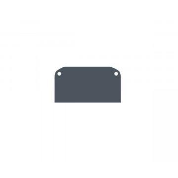 Концевая заглушка для шинопровода Denkirs TR3050 TR3052-AL, черный, металл