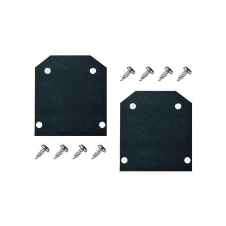 Концевая заглушка для трека Denkirs Smart TR3042-AL, черный, металл