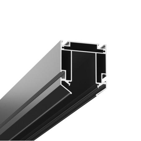 Профиль для монтажа шинной системы в натяжной потолок Denkirs Smart TR3040-AL, серый, металл
