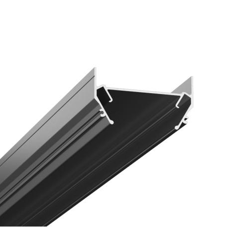 Профиль для монтажа шинной системы в натяжной потолок Denkirs TR3050-AL, серый, металл
