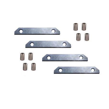Соединитель встраиваемых профилей для шинопровода Denkirs Smart TR3043-AL, серый, металл