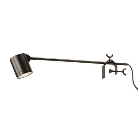 Мебельный светодиодный светильник SLV ANELA LED DISPLAY 1001009, LED 4000K, черный, металл