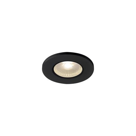 Встраиваемый светодиодный светильник SLV KAMUELA ECO 1001015, IP65, LED 3000K, черный, металл